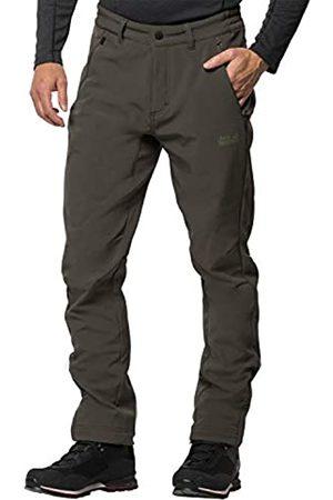 Jack Wolfskin Zenon - Pantalones de Softshell para Hombre, otoño/Invierno, Hombre