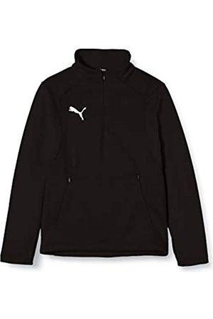 Puma Liga Training Fleece Jr Chaqueta de Entrenamiento, Unisex niños, Black/White