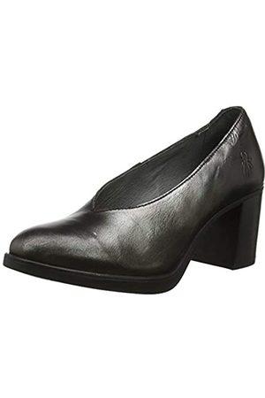 Fly London Saco371fly, Zapatos de tacón con Punta Cerrada para Mujer, (Smoke 004)