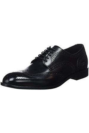 Geox U Saymore F, Zapatos de Cordones Brogue para Hombre, (Black C9999)