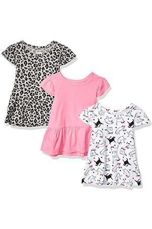 Spotted Zebra 3-Pack Short-Sleeve Ruffle Tops fashion-t-shirts, S