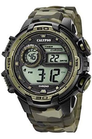 Calypso RelojCronógrafoparaHombredeCuarzoconCorreaenSiliconaK5723/6
