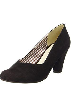 Hirschkogel by Andrea Conti 3000507, Zapatos de tacón con Punta Cerrada para Mujer, (Dunkelbraun 061)