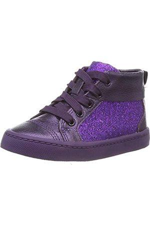 Clarks City Oasis HT, Zapatillas Altas para Niñas, (Purple Purple)