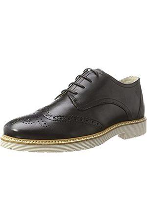 Marc Dover, Zapatos de Cordones Derby para Hombre, (Cow Crust Black 00187)