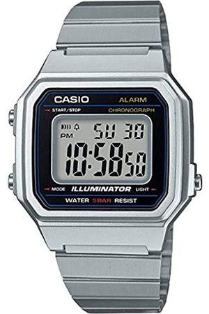 Casio Reloj Digital para Hombre de Cuarzo con Correa en Acero Inoxidable B650WD-1AEF