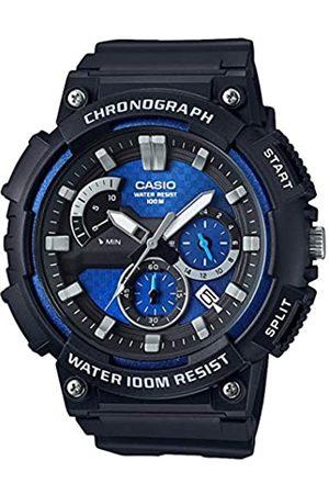 Casio Reloj Analogico para Hombre de Cuarzo con Correa en Acero Inoxidable sólido MCW-200H-2AVEF