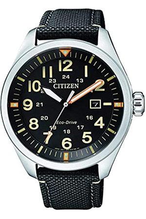 Citizen Reloj Analógico para Hombre de Cuarzo con Correa en Nailon AW5000-24E