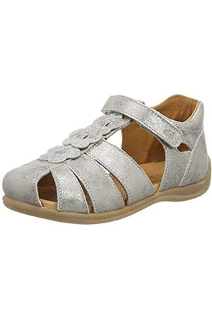 Froddo G2150094-5 Girls Sandal, Sandalias Punta Cerrada para Niñas, (Silver I12)