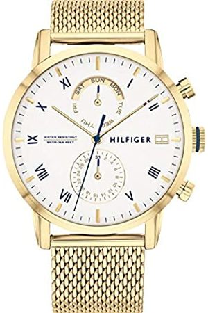 Tommy Hilfiger Reloj Analógico para Hombre de Cuarzo con Correa en Acero Inoxidable 1710403