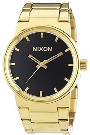 Nixon Cannon All Gold Black - Reloj de Cuarzo para Hombre