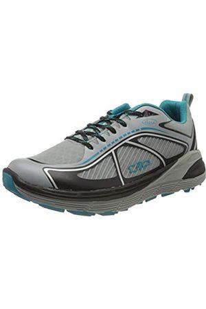 CMP Nashira Maxi Shoe, Zapatillas de Trail Running para Hombre, (Cemento-Nero 75UE)