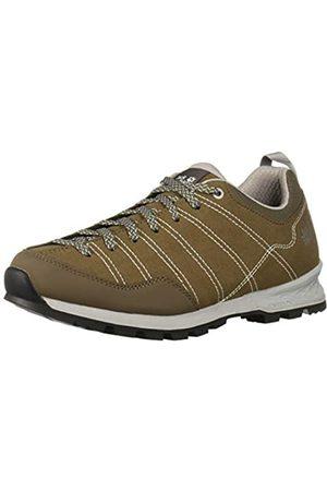 Jack Wolfskin Scrambler M, Zapatos de Low Rise Senderismo para Hombre, Coconut Brown/Light Grey 5208