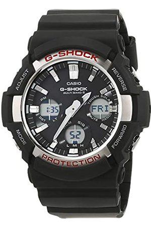 Casio G-SHOCK Reloj Analógico-Digital, Reloj radiocontrolado y solar, 20 BAR, Amarillo/ , para Hombre