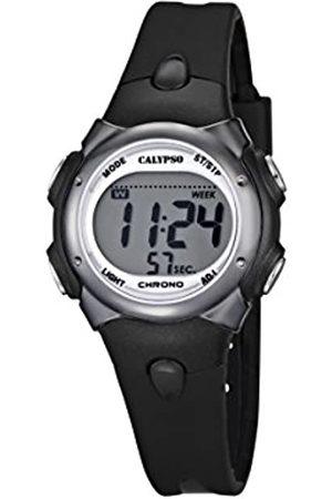 Calypso Reloj Digital para Chicos con Pantalla Digital LCD con Esfera y Correa de plástico de Color K5609/6 de la Marca