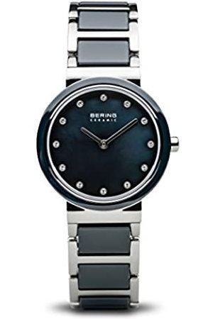 Bering Reloj Analógico para Mujer de Cuarzo con Correa en Acero Inoxidable 10729-787
