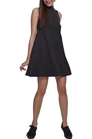 Urban classics Ladies A-Line Turtleneck Dress Vestido