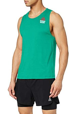 Reebok RC AC + Cotton Tank Games Camiseta Sin Mangas, Hombre