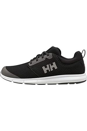 Helly Hansen Feathering, Náuticos para Hombre, (Black/White 990)