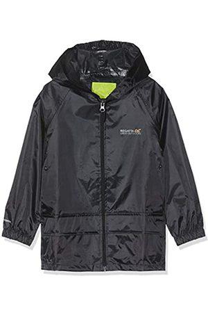 Regatta Chaqueta para niños Stormbreak con Costuras Selladas Impermeables y con Capucha Jackets Waterproof Shell, Infantil, - Marino
