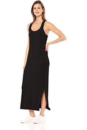 Daily Ritual Marca Amazon - - Maxi vestido de algodón terry súper suave y espalda cruzada, para mujer
