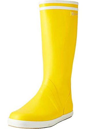 Aigle Goeland, Botas de Agua para Hombre, (Jaune/Blanc 001)