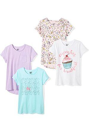 Spotted Zebra Marca Amazon - 4-Pack Short-Sleeve T-Shirts Novelty, X-Large (12)