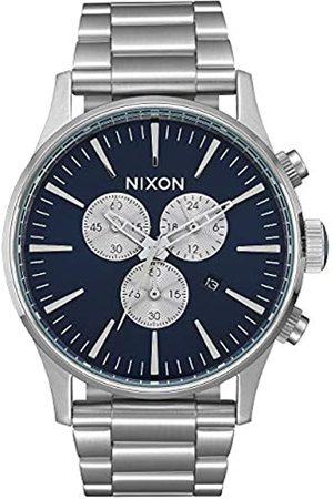 Nixon Reloj Analógico para Hombre de Cuarzo con Correa en Acero Inoxidable A386-1258-00