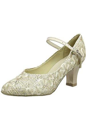 So Danca Bl166 Zapatillas de Baila Moderno y Jazz Mujer, (Gold Sparkle)