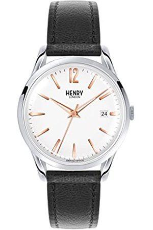 Henry Reloj Analógico para Unisex de Cuarzo con Correa en Cuero 5018479077725