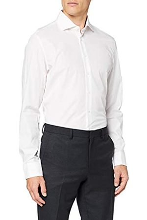 Seidensticker Gepunktetes Hemd Mit Kent-Kragen Und Einem Hohen Tragekomfort – Passform Slim Fit – Langarm – 100% Baumwolle Camisa
