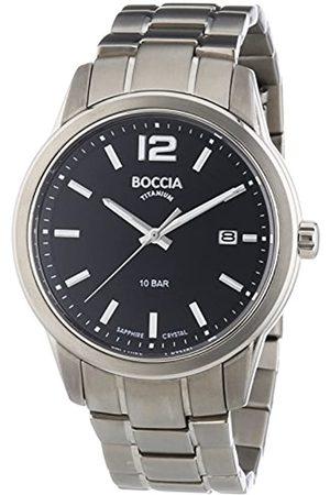 Boccia XL – Reloj para Hombre analógico Cuarzo 3581 – 01 – Titanio
