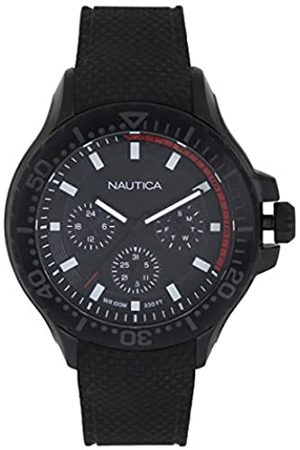 Nautica RelojAnalogicoparaHombredeCuarzoconCorreaenSiliconaNAPAUC004