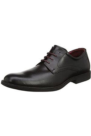 Camel Active Braga 50, Zapatos de Cordones Derby para Hombre, (11 Black)