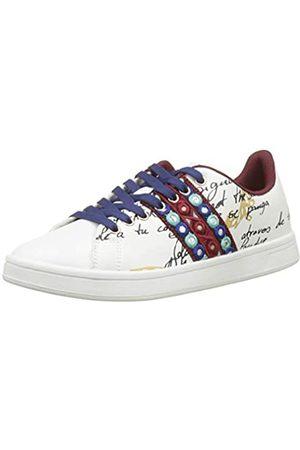 Desigual Shoes_Cosmic_Exotic Lettering, Zapatillas para Mujer, ( 1000)