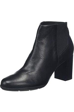 Geox D New ANNYA B, Botines para Mujer, (Black C9999)