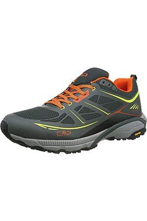 CMP Hapsu Walking Shoe, Zapatillas de Marcha Nórdica para Hombre, (Jungle/Lime 83ue)