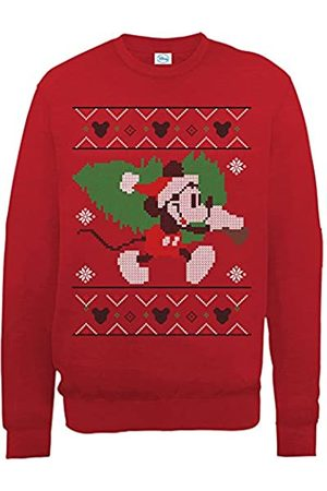 Brands In Limited Mickey Mouse Christmas Tree Sudadera