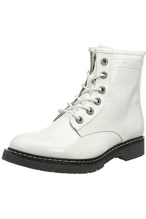 TOM TAILOR 7992801, Botines para Mujer, (White 00002)