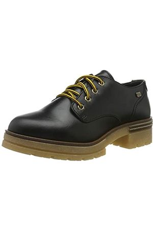 Musse & Cloud Gabriel, Zapatos de Cordones Oxford para Mujer, (Nvbk 001)