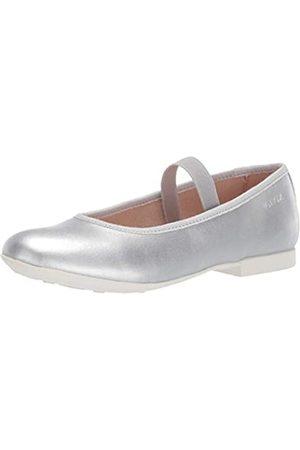 Geox JR Plie' D, Bailarinas para Niñas, (Silver C1007)