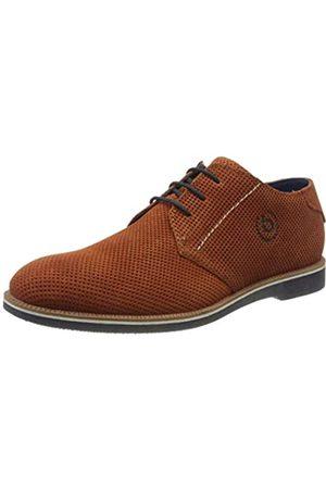 Bugatti 311647061400, Zapatos de Cordones Derby para Hombre, (Orange 3300)
