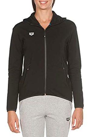 Arena W Hooded F/Z Jacket Chaqueta con Capucha Mujer Gym, Black