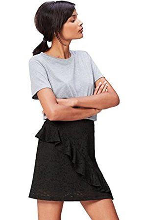 FIND Falda de Encaje con Volante para Mujer