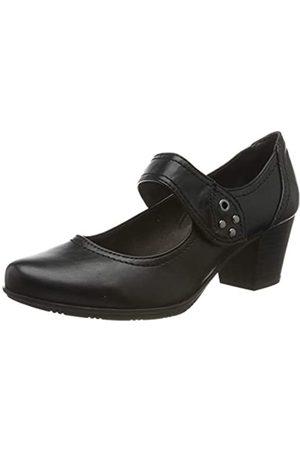 Jana 8-8-24366-23, Mocasines para Mujer, (Black 001)