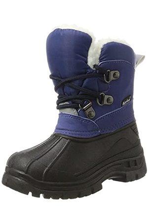 Playshoes Zapatos de Invierno Boots, Botas de Nieve Unisex Niños, (Marine 11)