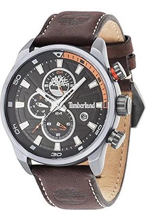 Timberland Reloj Cronógrafo para Hombre de Cuarzo con Correa en Cuero TBL14816JLU.02A