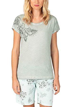 Timezone Printed Oversize T-Shirt Camiseta