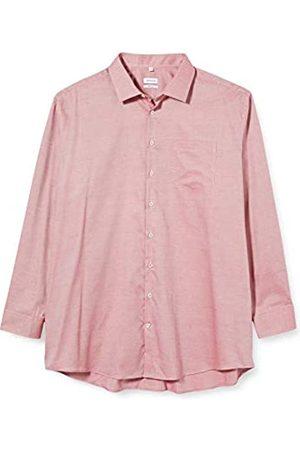 Seidensticker Einfarbiges Hemd Mit Kent-Kragen Und Struktur – Regular Fit – Langarm Camisa