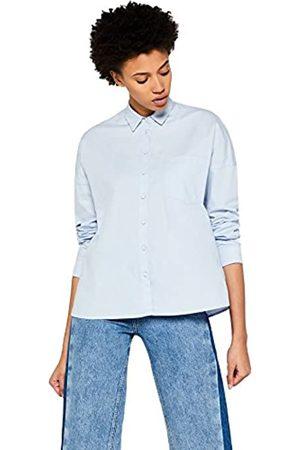 FIND Camisa de Manga Larga de Algodón Mujer